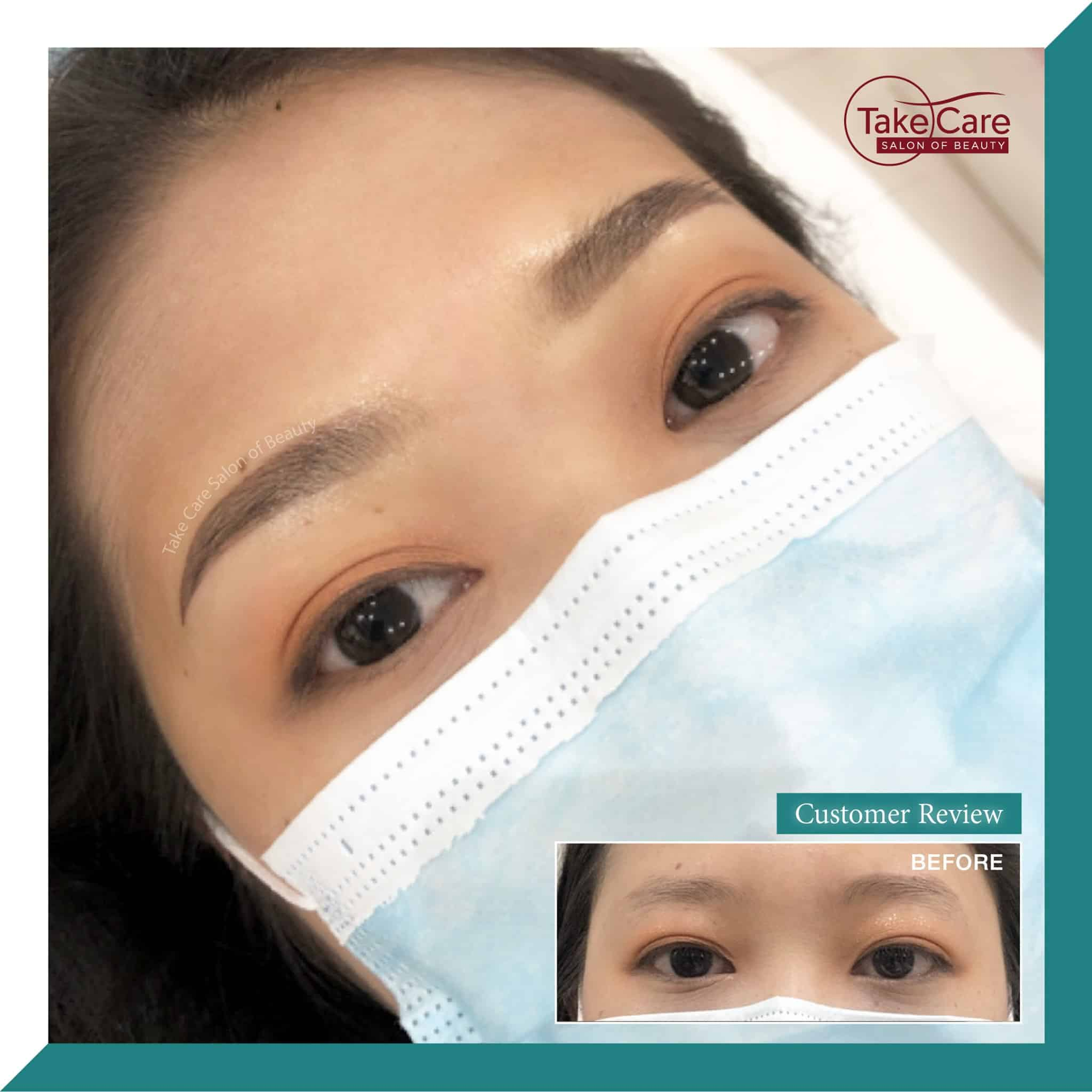Before After Eyebrow Long Time Liner